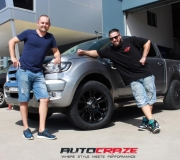 FORD PJ PK RANGER WITH FUEL VAPOR MATTE BLACK