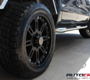 FORD RANGER WITH BLACK RHINO ROCKWELL MATTE BLACK 1
