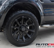 FORD RANGER WITH BLACK RHINO SIDEWINDER MATTE BLACK 02