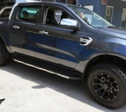 FORD RANGER WITH BLACK RHINO SIDEWINDER MATTE BLACK 3