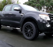 FORD RANGER WITH KMC HEIST-2