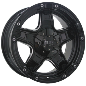 T10 GLOSS BLACK MILLED SPOKE EDGE
